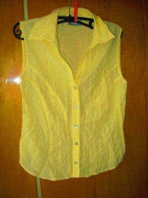 gelbe Bluse ohne Arm