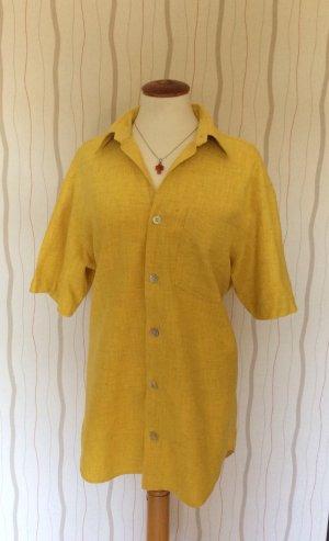 gelbe Bluse Vintage Größe 41/42