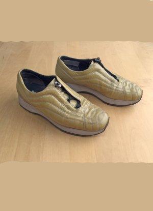 gelbe Damen Sneaker von K+S, Größe 5 1/2