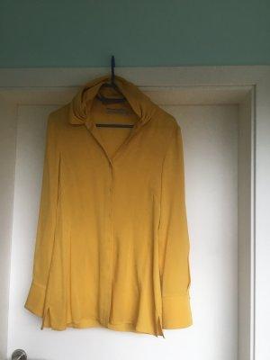 Anja Gockel Silk Blouse yellow