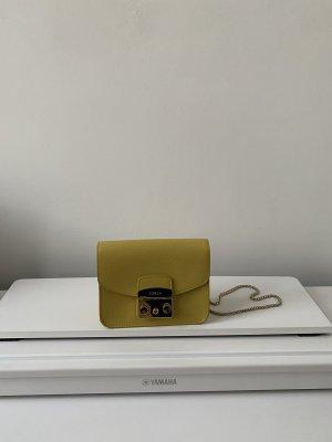 Gelbe Furla Handtasche
