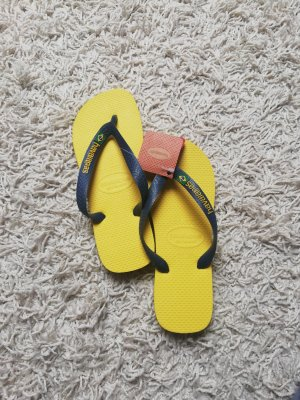 Havaianas Flip-Flop Sandals yellow-blue