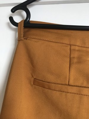 Only Peg Top Trousers gold orange