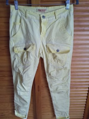 Funky Staff Jeans baggy jaune clair