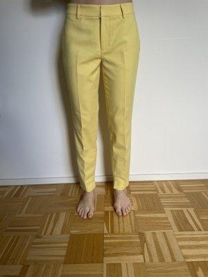 Gelbe Hose von Zara, Gr. 38, einmal getragen