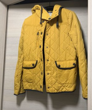 Pull & Bear Giacca in pile giallo-blu