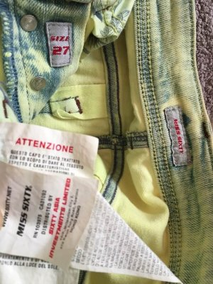 Miss Sixty Jeans boyfriend multicolore coton