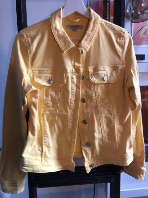 Comma Denim Jacket yellow-primrose