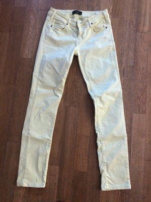 Cimarron Jeans skinny giallo pallido Cotone