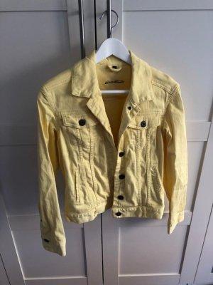 Gelbe Jeansjacke von Eddie Bauer