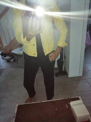 gelbe Jeansjacke von Tom tailor