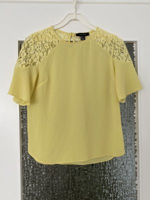Atmosphere Short Sleeved Blouse yellow