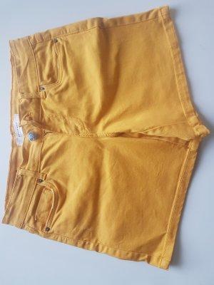 Gelbe kurze Hose von Promod