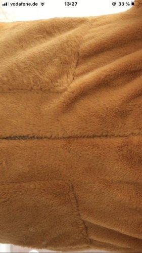 C&A Jack van imitatiebont goud Oranje Polyester