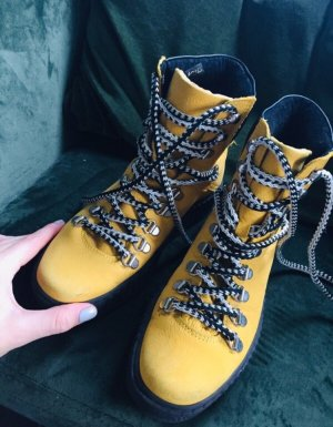Shoe the Bear Low boot jaune fluo