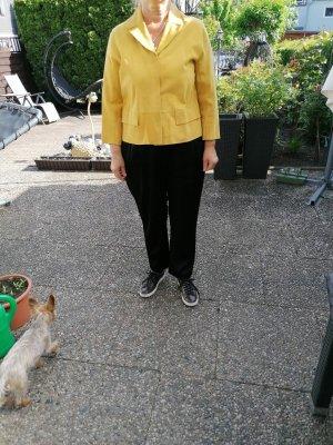 Milestone Leather Jacket yellow