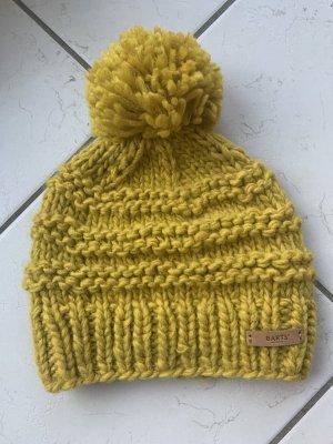 Barts Sombrero de punto amarillo oscuro