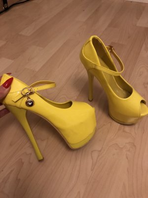 Jumex Platform Pumps yellow-neon yellow