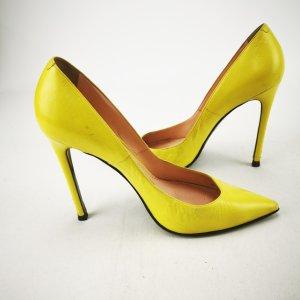 Gelbe Pumps von Barbara Bui