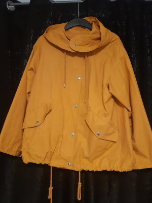 H&M Imperméable orange doré coton