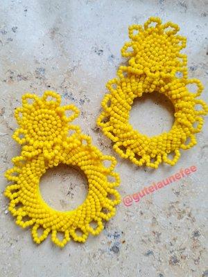gelbe Sommer Ohrringe