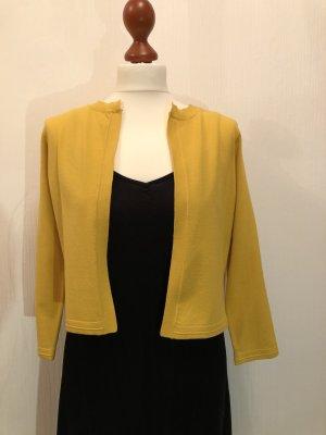 KAREN MILLEN Giacca in maglia giallo scuro Tessuto misto