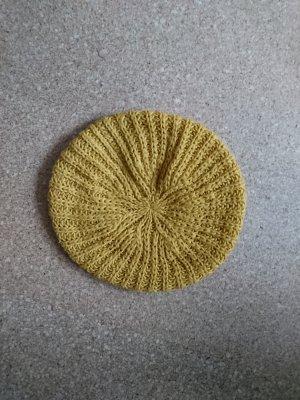 gelbe Strickmütze von H&M