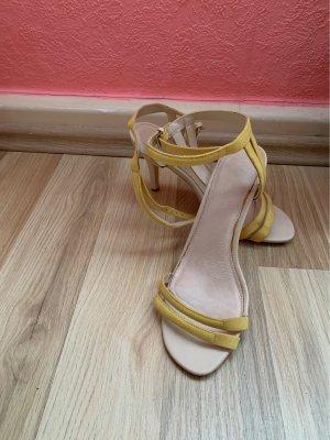 gelbe Süße High Heels
