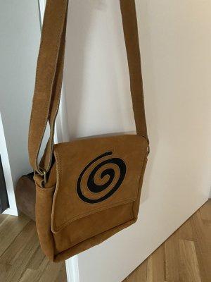 gelbe Tasche mit Spirale