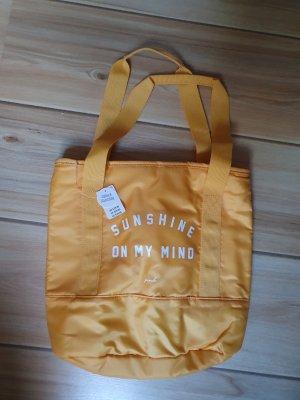 gelbe Tasche von Victorias Secret