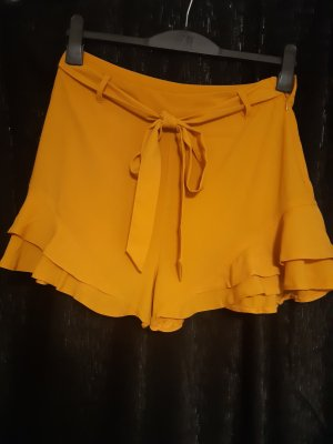 Amisu High waist short goud Oranje
