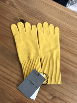 Liebeskind Berlin Knitted Gloves yellow