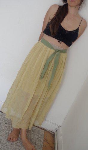 Be Tween Silk Skirt multicolored silk