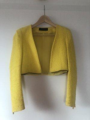 gelber Blazer Zara