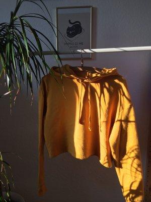 H&M Divided Hooded Sweater light orange-gold orange