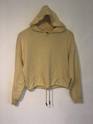 Gelber Cropped Pullover