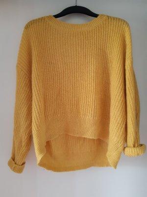 L.O.G.G Gehaakte trui geel