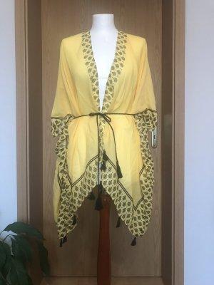 Gelber Hippie Kimono