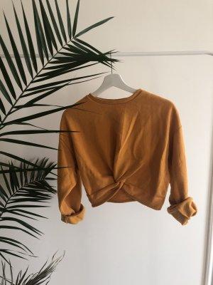 H&M Hooded Sweater light orange