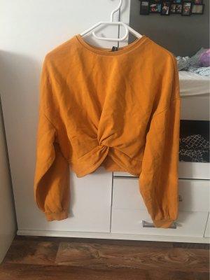 H&M Maglione twin set arancione chiaro