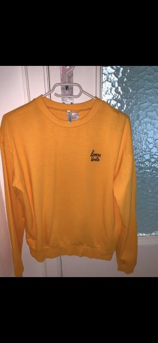 H&M Long Sweater light orange