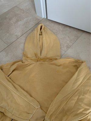 Levi's Sweter z kapturem jasnożółty
