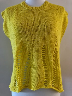360Cashmere Fine Knitted Cardigan yellow