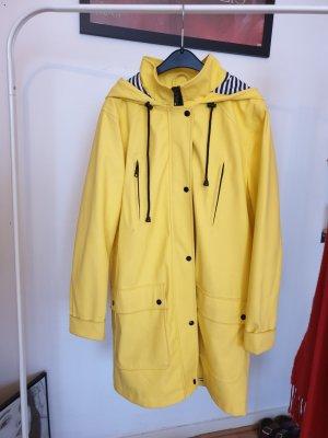 Review Heavy Raincoat yellow mixture fibre