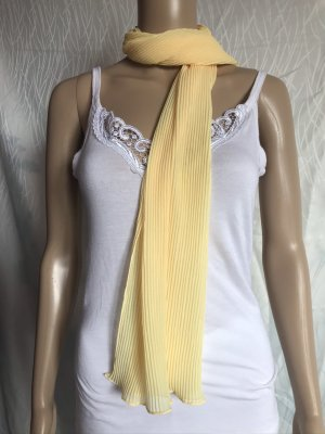 C&A Summer Scarf yellow polyester