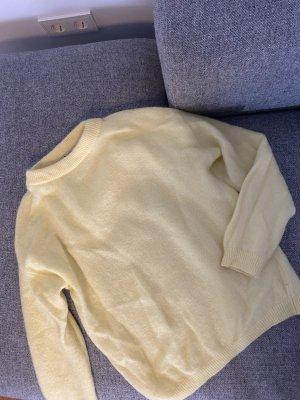 Acne Studios Sweter z dzianiny jasnożółty-żółty