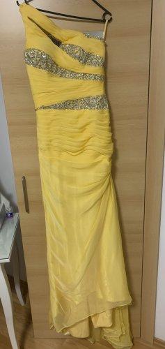 Gelbes Ballkleid/festliches Kleid