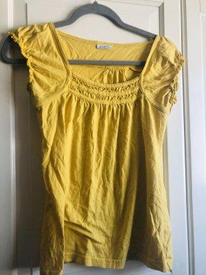 Avanti T-shirt jaune primevère coton