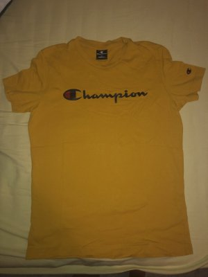 gelbes Champion tshirt