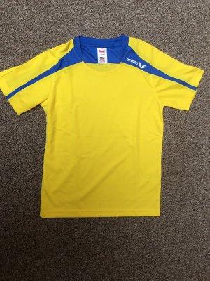 Gelbes Erima Sport-T-Shirt